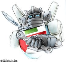TF: Wheeljack by CatusSnake