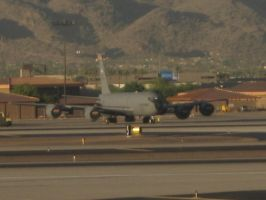 KC-135 at Sky Harbor Airport by Coffeebean2