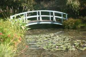 STOCK photo Monet-ish bridge 2 by MaureenOlder