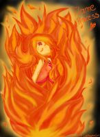 Flame Princess by Yuky-CuteVampireGirl