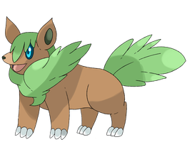 Collaboration Fakemon Pufern by Phatmon66