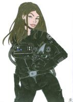 Female TIE Fighter Pilot Commission by Slayer730