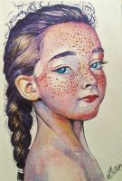 Water colour Portrait by njclaws