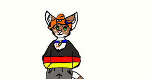 KITTY CAT OC ART TRADE FOR Panda-Moose by DEVIOUS-DISCORD-RP