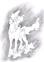 Rapidash by BanditFrosty