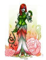 Sketch Dailies Poison Ivy by e-carpenter