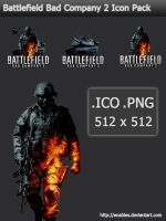 Battlefield Bad Company 2 Icon by enables
