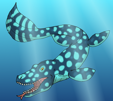 Kinte the Sea Lizard by DaBrandonSphere
