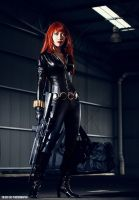 black widow by Forkninja