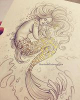 The Death of The Little Mermaid by HeatherHitchman