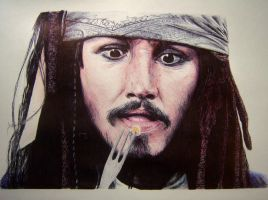 captain Jack Sparrow by Wirraaa