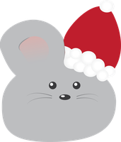 Christmas Mouse by leogal