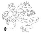 Skylanders: Ancient Zodiac: Serpentarius :Lineart: by Xero-J
