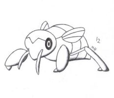 Bug Pokemon Advent Calendar - #12 Nincada