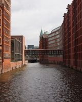 Bridge Speicherstadt by CeaSanddorn