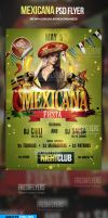 Mexicana PSD Flyer Template by ImperialFlyers