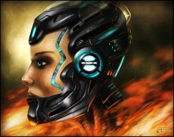 Hi-Tech Headgear by Emortal982