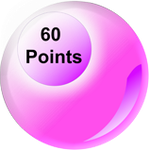 60 Points by TheRedCrown