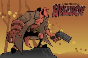 Hellboy by ChenUp