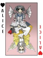 Royal Card Alice by sadwonderland