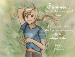 Summer day without you by jinyjin