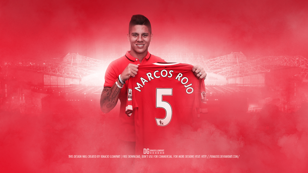 Marcos Rojo - Wellcome Manchester United by ignaxxx