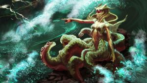 Queen of the Nereids by axl99