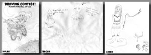 Oh God, No--Drawing Contest by SonicRocksMySocks