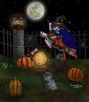 Halloween Witch 2005 by Leara