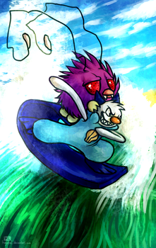 Otterpop used Surf by Haychel