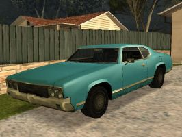 Muscle Car in GTA San andreas by toyonda