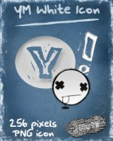 YM white dock icon by nuteduard