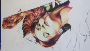 W.I.P Florence Welch by hunter-wa