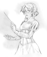 Adela the Teacher by ougaming
