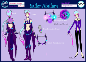 Sailor Alnilam Ref Sheet by shinrah