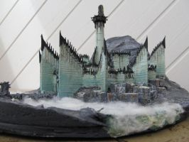 Minas Morgul, wooden model 2 by LePtitSuisse1912
