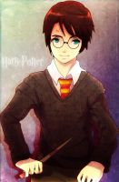 Harry Potter by ERDJIE