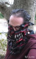 Stealth Dragon Leather Mask by Epic-Leather