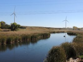 Turbines and water by jenny-in-ga