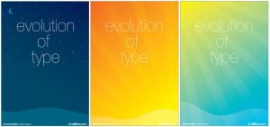 Evolution of type posters by nalhcal
