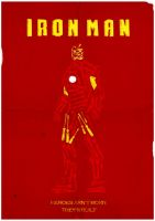 Iron Man Poster by W0op-W0op