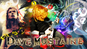 Dave Mustaine by LadyTankian