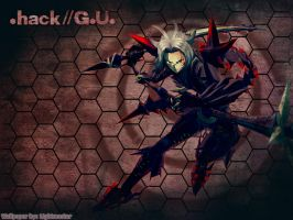 .Hack Wallpaper Haseo 3rd Form by shirotsuki-hack