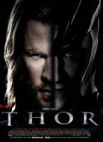 Thor movie poster 01 by NateTravis23