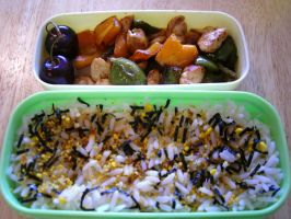 Technicolour Bento by hayleywarner