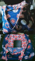Cubs Tote Bag by UrsulaPatch