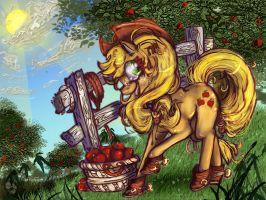 AppleJack by CorrsollaRobot