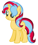 TrixShimmer Pony by luluflaire