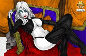 Lady Death - Colour - Reiq by Drazhar24