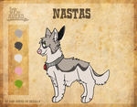 Up and ahead fan character:Nastas by Reka-The-Jarl